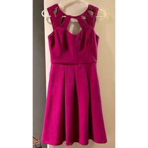 Betsey Johnson Magenta Dress